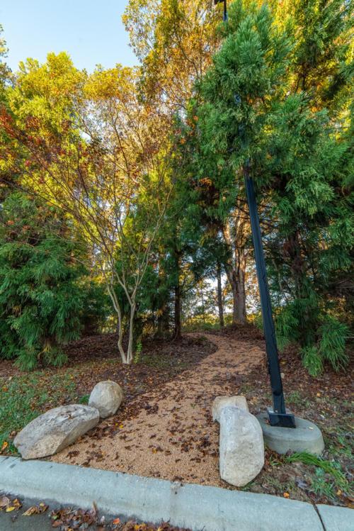 Entrance from Duke Center for Living North Carolina Trail Builder