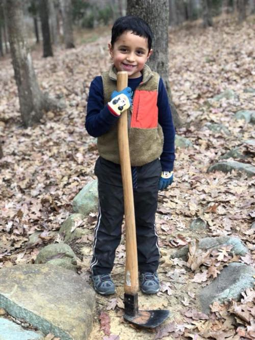 Young Trail Builder