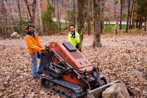 Trail Building with Ditch Witch SK650