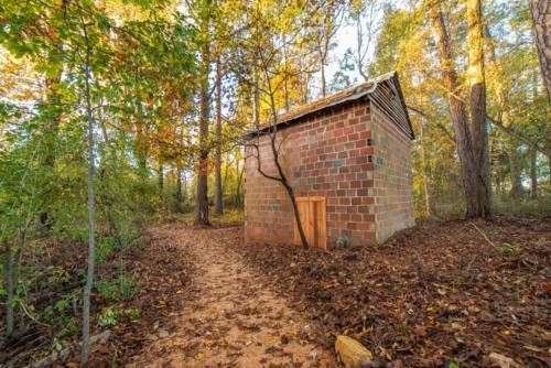 Nature Preserve Tobacco Barn North Carolina Trail Builder