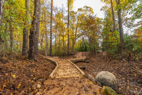 Puncheon Bridge Walking Trail North Carolina Trail Builder