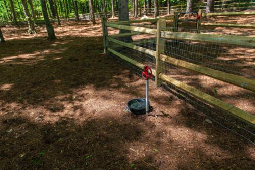 Dog Park Water Station North Carolina Trail Builder