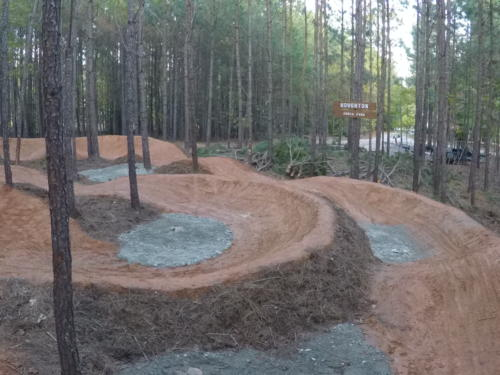 Pump Track Drainage