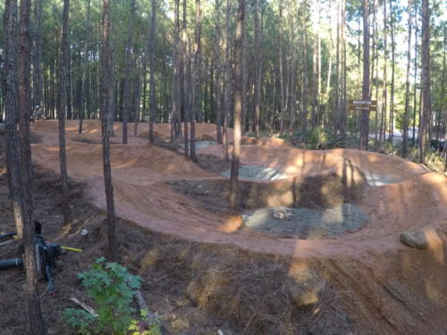 Shaded Pump Track