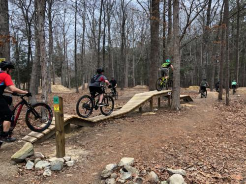 Bike Park Bridge