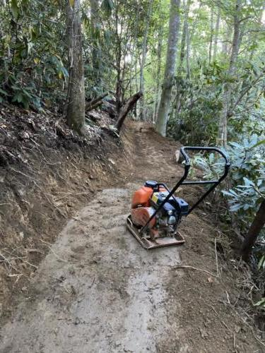 Single Track Construction