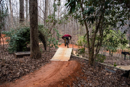 North Carolina Trail Design Wooden Roller