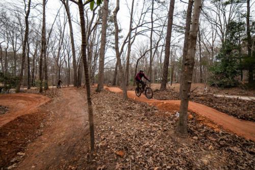 North Carolina Trail Design Pump Track Overview