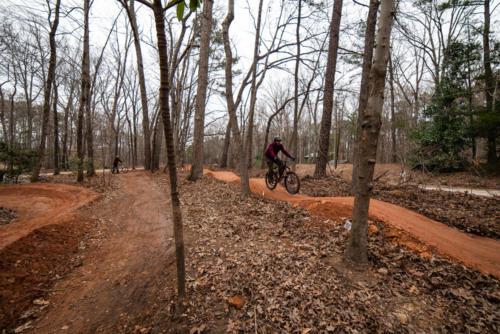 North Carolina Trail Design Pump Track Overview