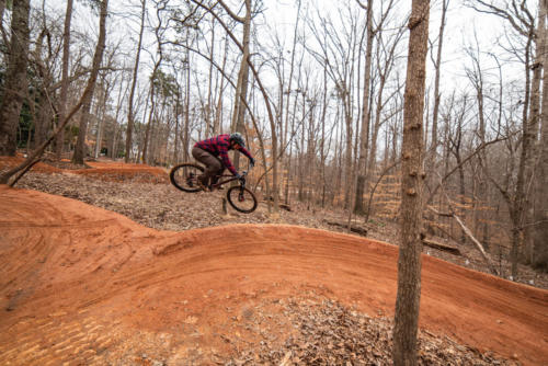 North Carolina Trail Design Berm to Berm Transfer