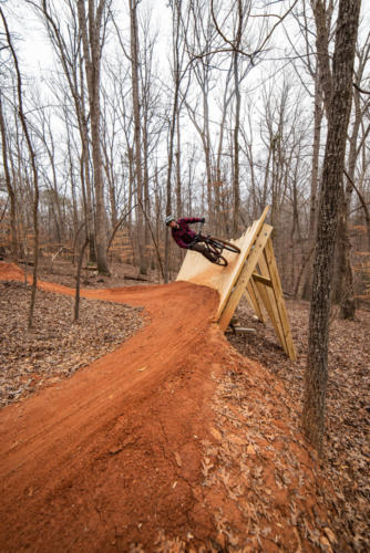 North Carolina Trail Design Curved Wallride