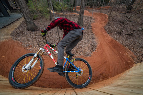 North Carolina Trail Design Curved Wallride