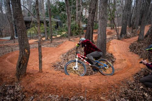 North Carolina Trail Design 180 Berm Carve